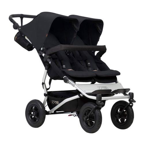 Mountain Buggy Duet 2017 Double Stroller - Black
