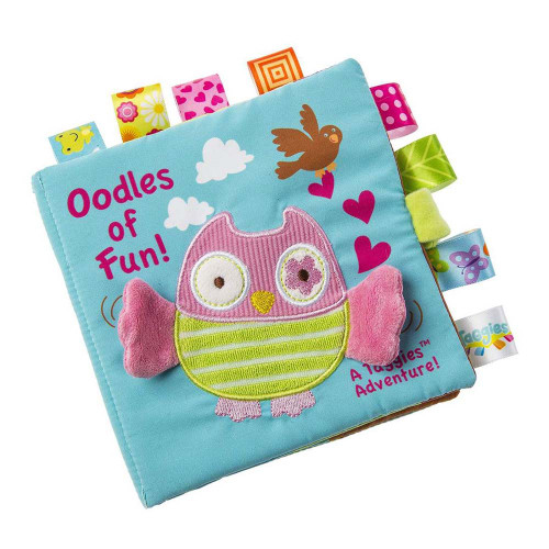 Taggies Soft Book - Oodles Owl
