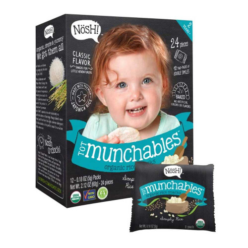 Nosh Toddler Munchables - Simply Rice