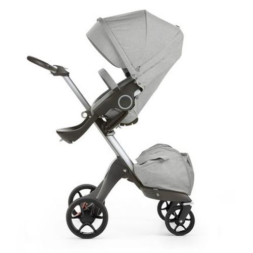 Stokke Xplory V5 Stroller - Grey Melange