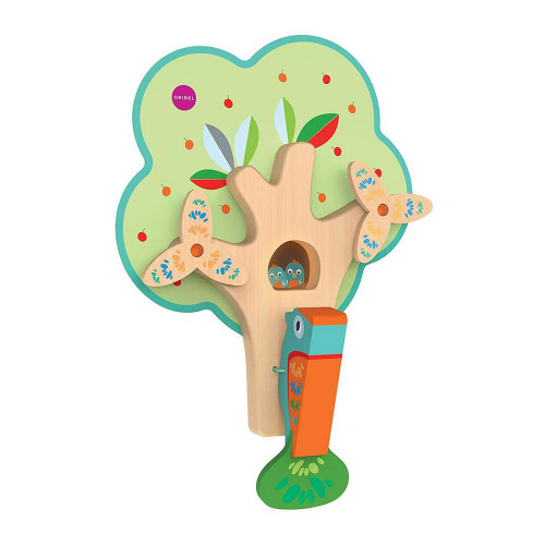 Oribel Vertiplay Wall Toys - Busy Woodpecker