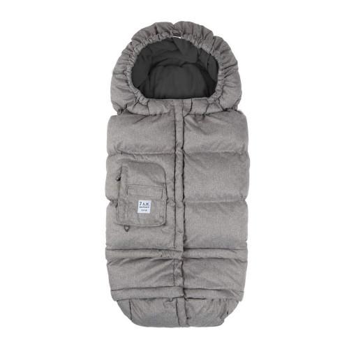 7 A.M. Enfant Blanket 212 Evolution - Heather Grey