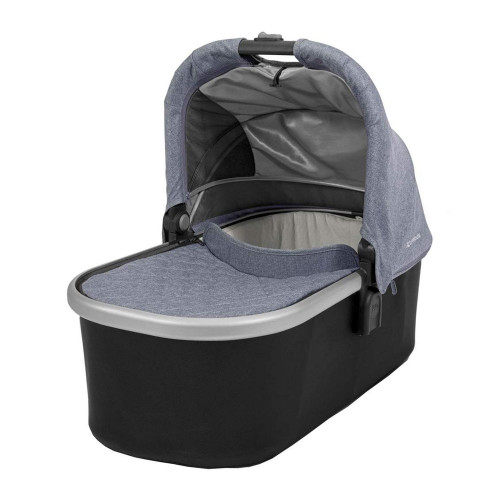 UPPAbaby Cruz Bassinet - Blue with Silver Frame