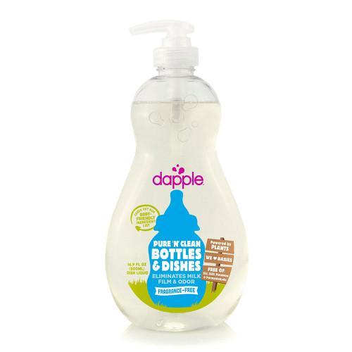 Dapple Fragrance-Free Baby Bottle & Dish Liquid - 500ml