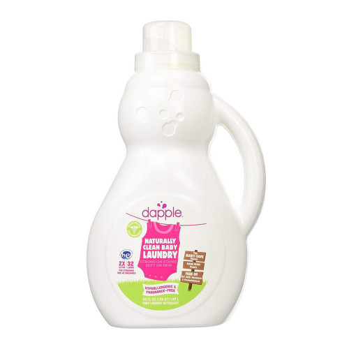Dapple Pure 'N' Clean Baby Laundry Detergent, Fragrance-Free - 32 Loads