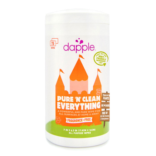 Dapple Surface Wipes - 75ct