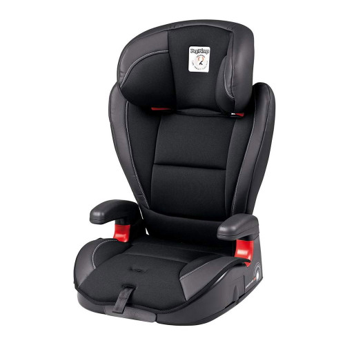Peg Perego Viaggio HBB 120 High Back Booster Leather - Licorice