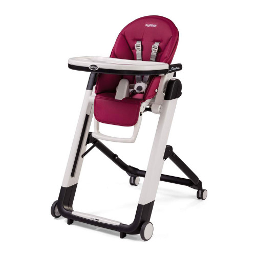 Peg Perego Siesta High Chair - Berry Stop & Go Feature