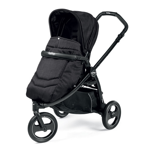 Peg Perego Book Scout Completo 3 Wheel Stroller - Onyx