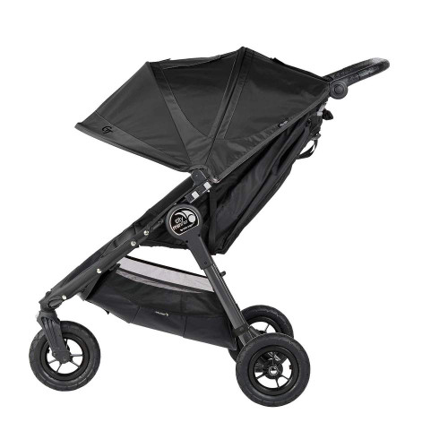 Baby Jogger City Mini Gt Double Stroller Black W Black Frame