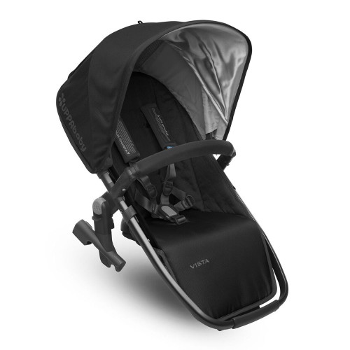 UPPABaby Vista RumbleSeat 2017 - Jake (Black with Graphite Frame)