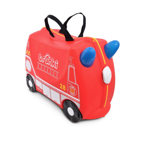 Trunki Ride On Suitcase - Frank the Fire Truck