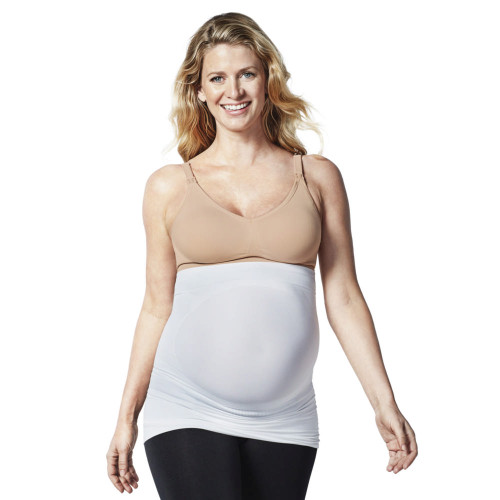 Bravado Belly and Back Multi-Zone Pregnancy Support Band - White/Medium