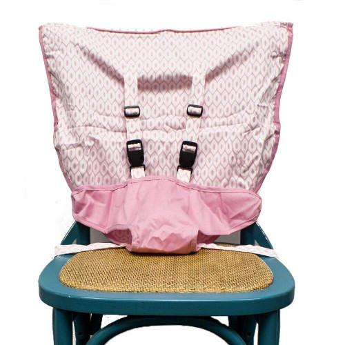 Mint Marshmallow Travel Seat - Pearl Pink