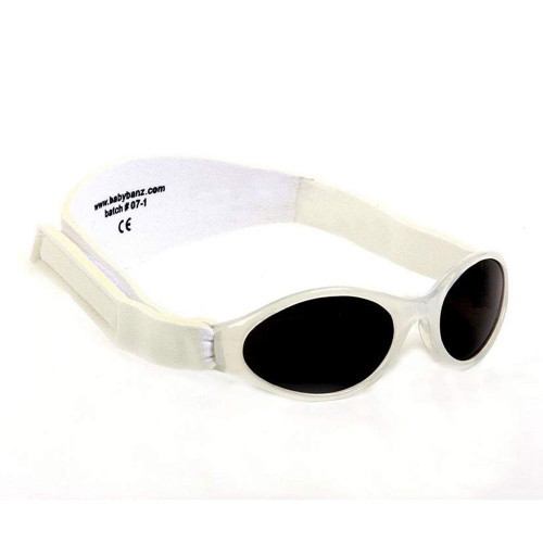 Banz Kids Adventure Sunglasses - Arctic White