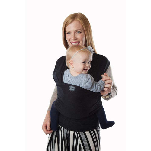 Moby Baby Wrap Bamboo - Black