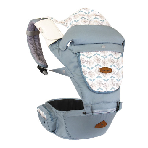 i-angel Miracle All-In-One Hipseat & Carrier - Powder Blue