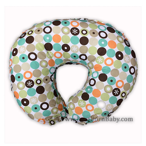 Kidiway Nursing Pillow and Positioner with Bobby Slipcover - Surprise