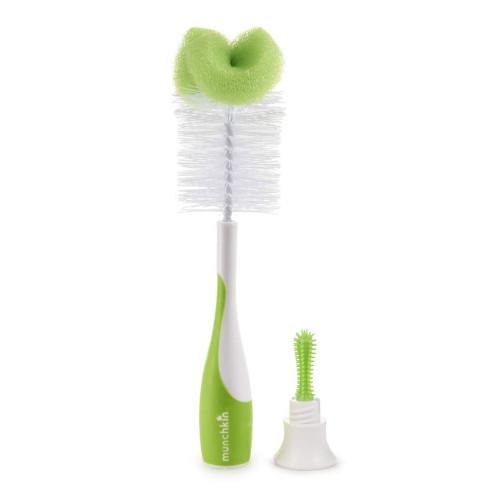 Munchkin Sponge Bottle Brush - Green
