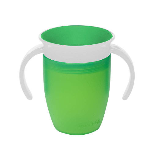Munchkin Miracle 360 7oz Trainer Cup - Green