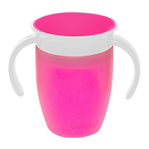 Munchkin Miracle 360 7oz Trainer Cup - Pink