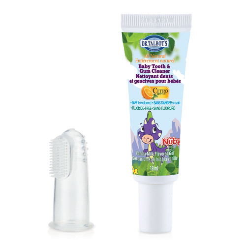 Nuby Infant Toothpaste with Brush