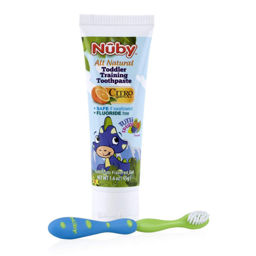 Nuby Toddler Toothpaste with Brush