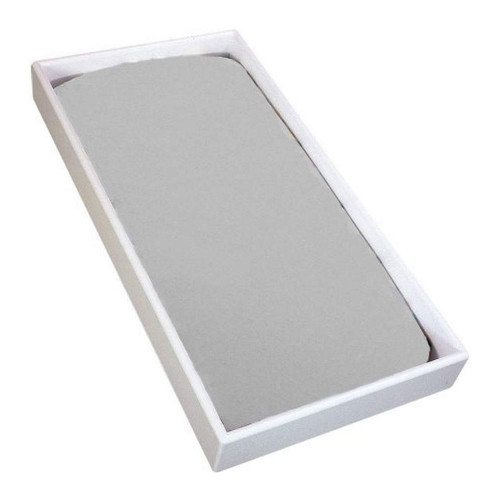 Kushies Flannel Fitted Change Pad Sheet - Grey
