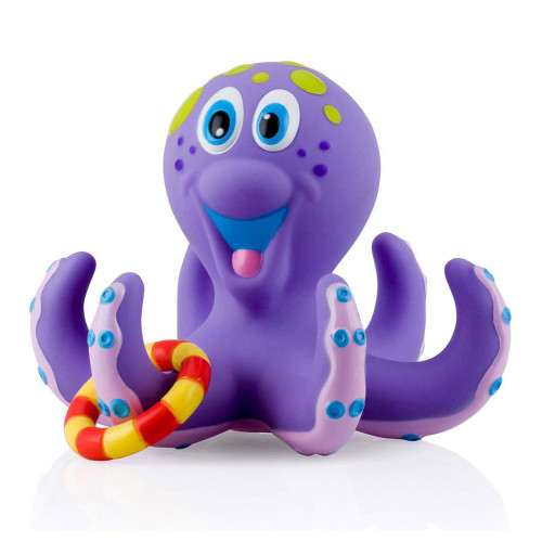 Nuby Octopus Bath Tub Toss Water Play Toy