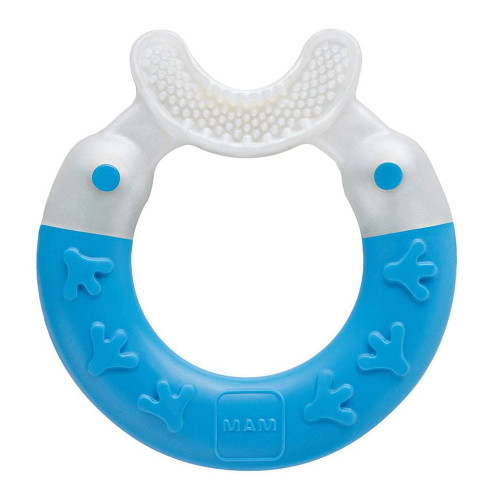 MAM Bite & Brush Teether - Blue