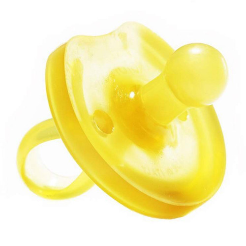 Natursutte Butterfly Round Natural Rubber Pacifier - L (12 Months+)