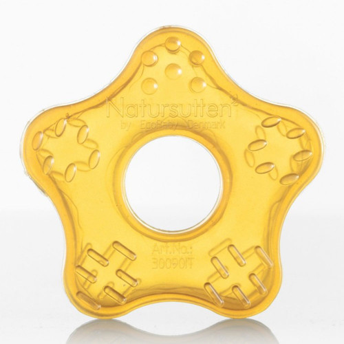 Natursutten Natural Rubber Starfish Teether Toy