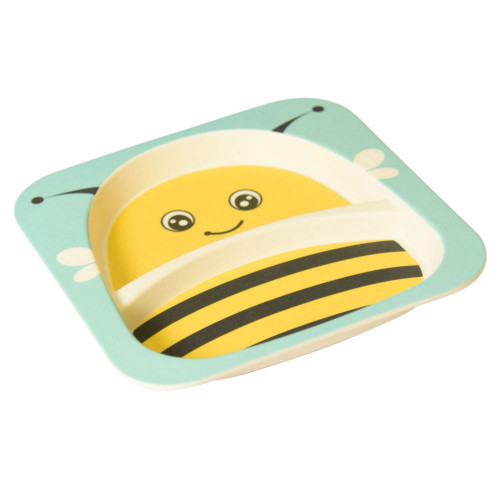 Safety 1st Bamboo Plate - Bee