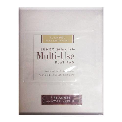BE Basic Multi-Use Waterproof Flannel Flat Pad - 27in x 36in