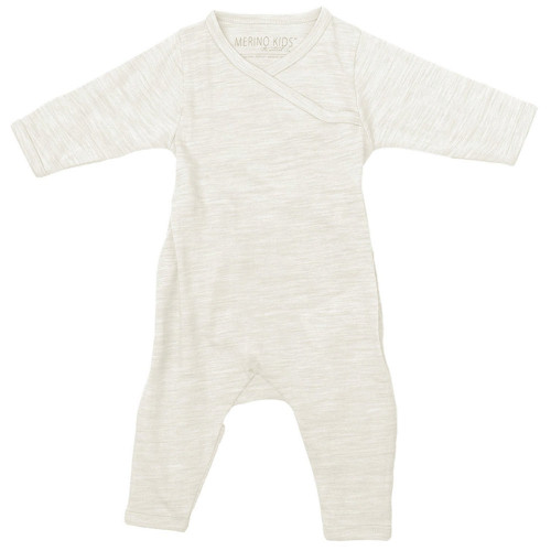 Merino Cocooi Growsuit - Cream (NB)