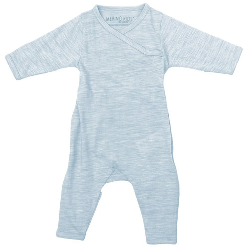 Merino Cocooi Growsuit - Turtledove (NB)