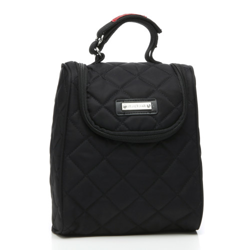 Storksak FAB Quilted Insulated Food & Bottle Bag - Black