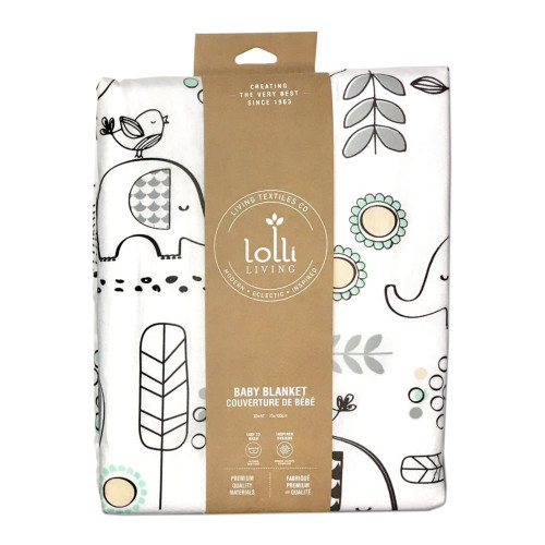 Lolli Living Kayden Collection Baby Blanket - Elle Elephant