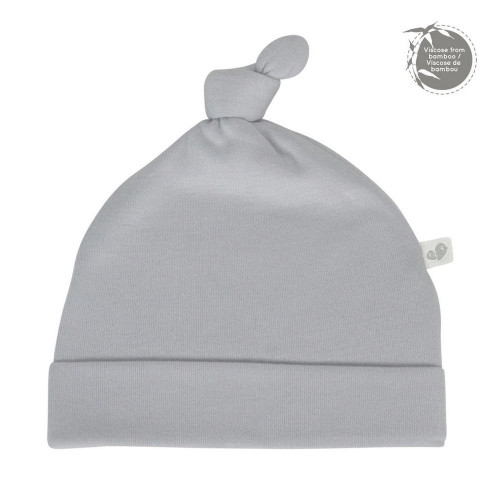 Perlimpinpin  Bamboo Knotted Hat 6-9 Months - Souris