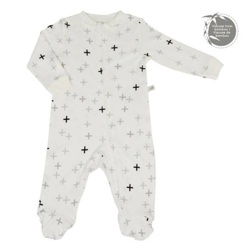 Pelimpinpin Bamboo Pyjamas (6 Months) - Plus Print