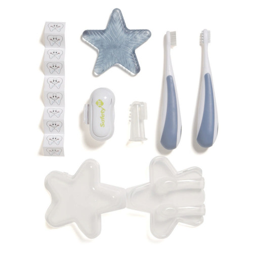 Safety 1st Infant-to-Toddler Oral Care Kit - Arcitc Blue