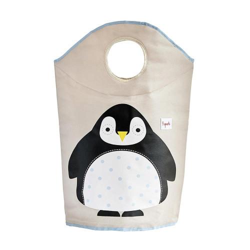 3 Sprouts Laundry Hamper - Penguin