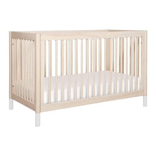 Babyletto Gelato 4-in-1 Convertible Crib with Toddler Bed Conversion Kit - Washed Natural