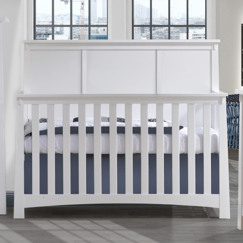 Nest Bruges 5-in-1 Convertible Crib - White