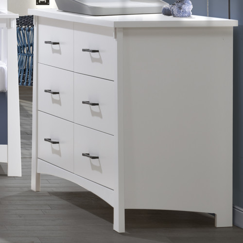 Nest Bruges Double Dresser - White