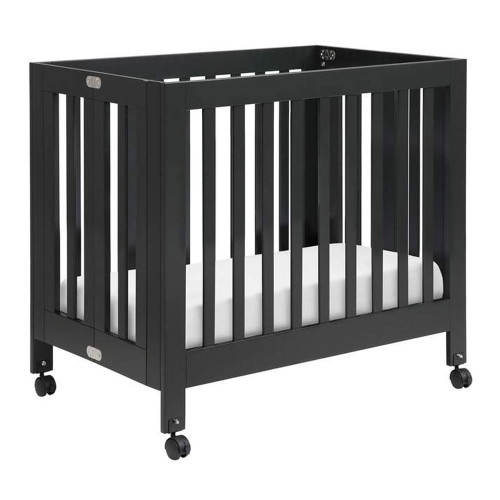 Babyletto Origami Mini Crib - Black