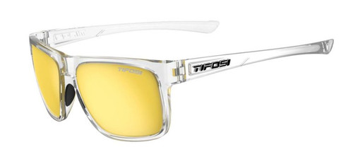 Tifosi Sunglasses, Swick, Crystal Clear/Smoke Yellow