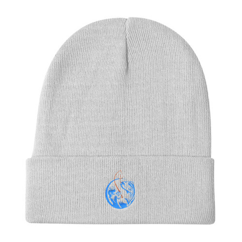 Lure Embroidered Knit Beanie