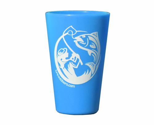 Lure Outdoors Logo'd Silipint - Sky Blue