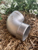 """Elbow, 32mm (1 1/4"""" BSP) 316 Stainless Steel with BSP Male x BSP Female Threads"""